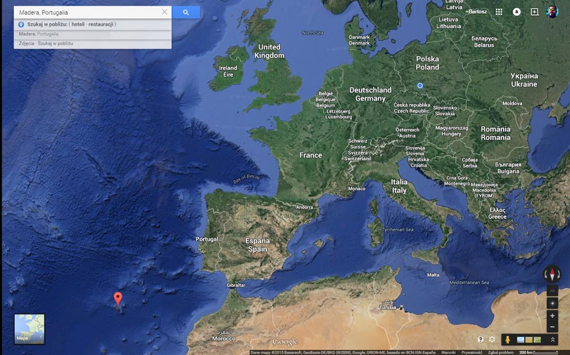 to ta mała kropka zaznaczona na mapie