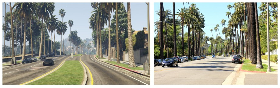ulice Beverly Hills
